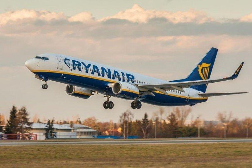 Авиакомпания Ryanair приостановит 70% своих маршрутов