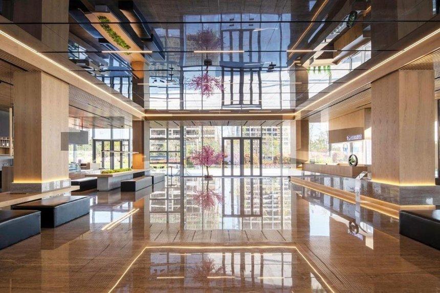 Киевское бюро Balbek разработало дизайн офиса в Китае: как он выглядит