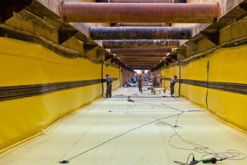 Как строятся первые в Украине двухъярусные тоннели в метро на Виноградарь