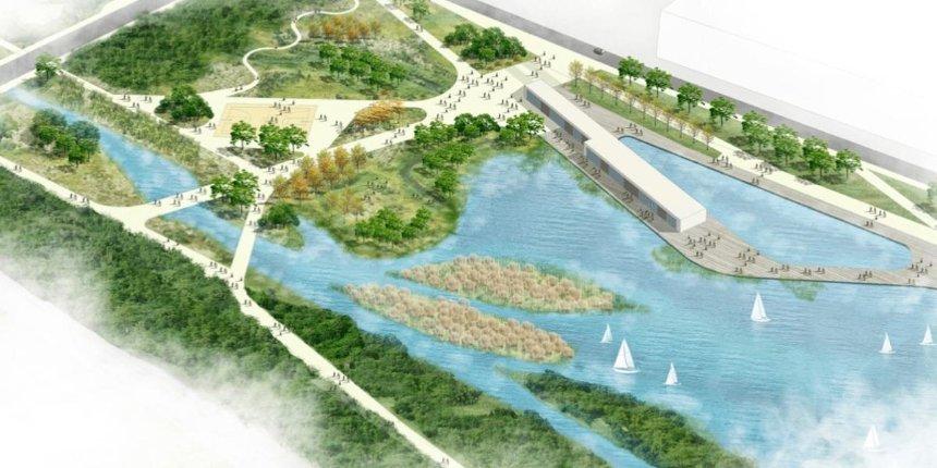 Вдоль реки Почайной хотят обустроить парк с набережной: как он будет выглядеть
