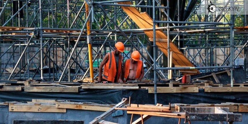 Как проходит обустройство нового входа на Труханов остров