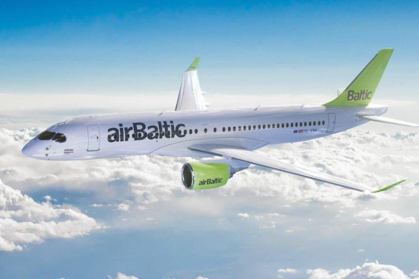 airBaltic запустит прямые рейсы между Киевом и Вильнюсом
