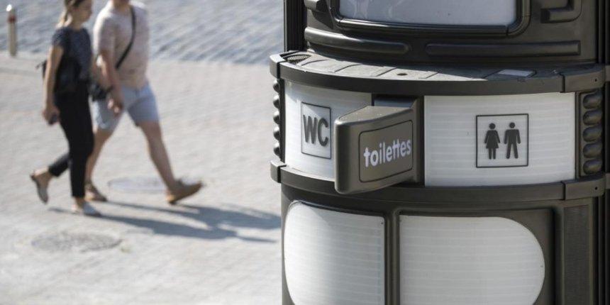 В центре Киева установили десять автоматизированных туалетов