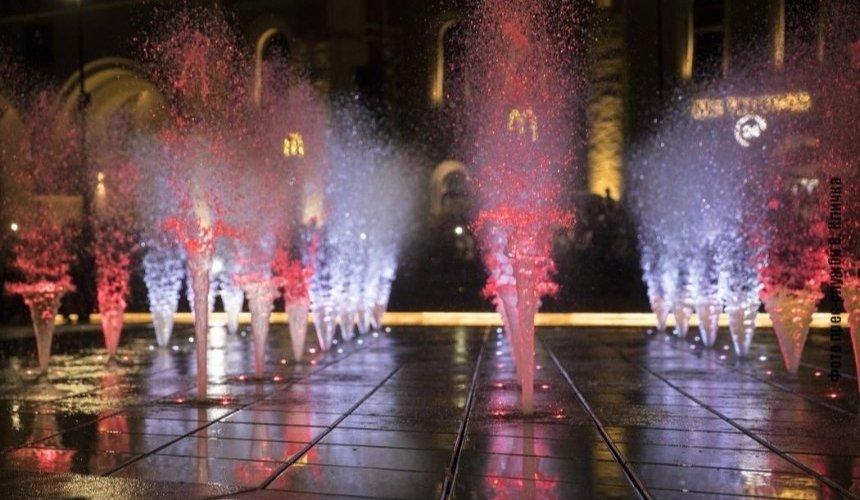 НаАрсенальной площади возобновит работу светомузыкальный фонтан