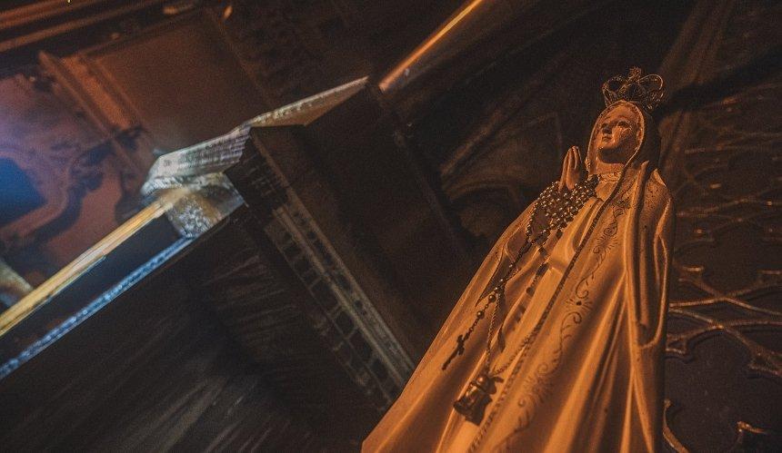 Назвали предварительную причину пожара вкостеле Святого Николая