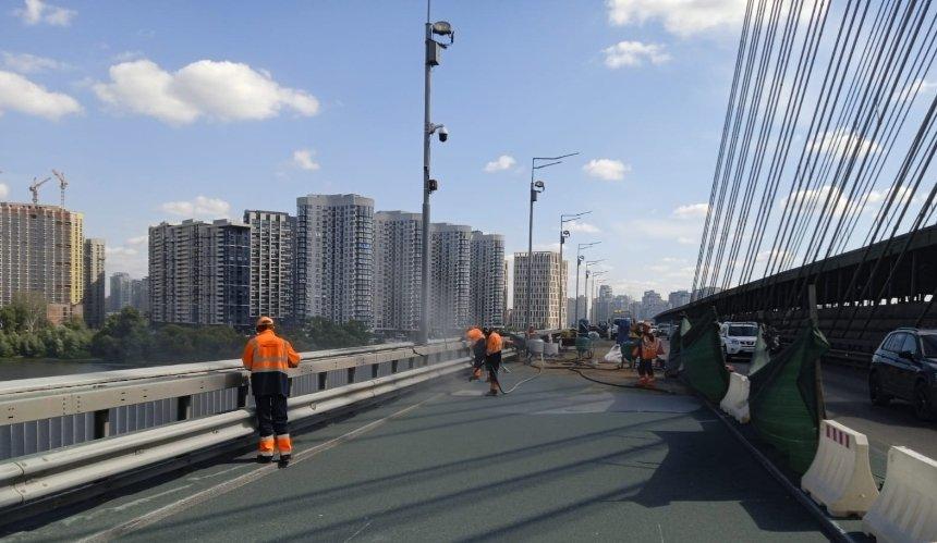 Сняли старый асфальт: как проходит ремонт Южного моста