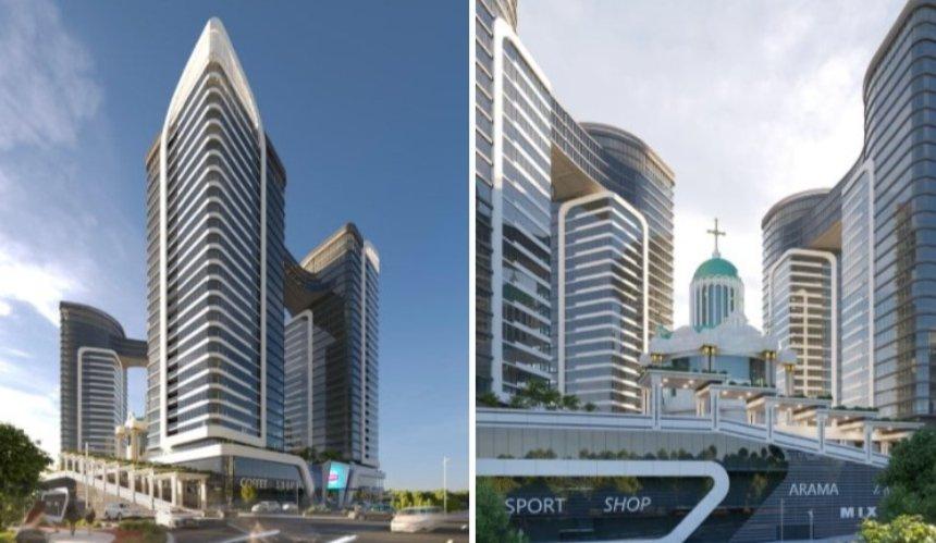 ВДарницком районе хотят возвести многоэтажный «храмовый комплекс» сапартаментами
