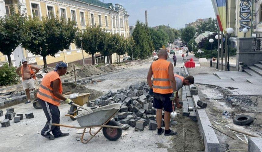 Реконструкция Андреевской улицы: что там будет