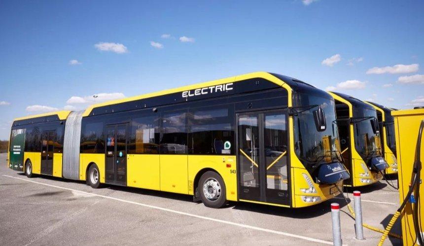 Для Киева закупят 17 новых электробусов с зарядными станциями