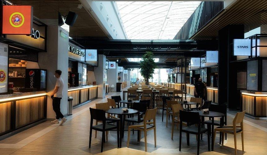 Новое место: фудхолл Stars вТРЦ Blockbuster Mall