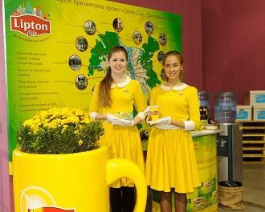 Міжнародний  бренд  Lipton  став  партнером  головної  події  української  моди – Ukrainian Fashion Week