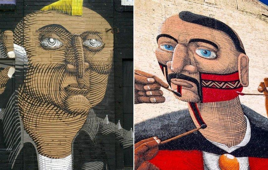 Познаем в сравнении: что еще рисовали авторы киевских муралов