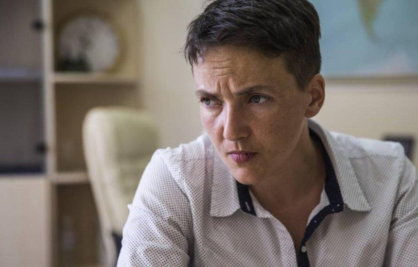 Надежду Савченко предлагают лишить депутатского мандата