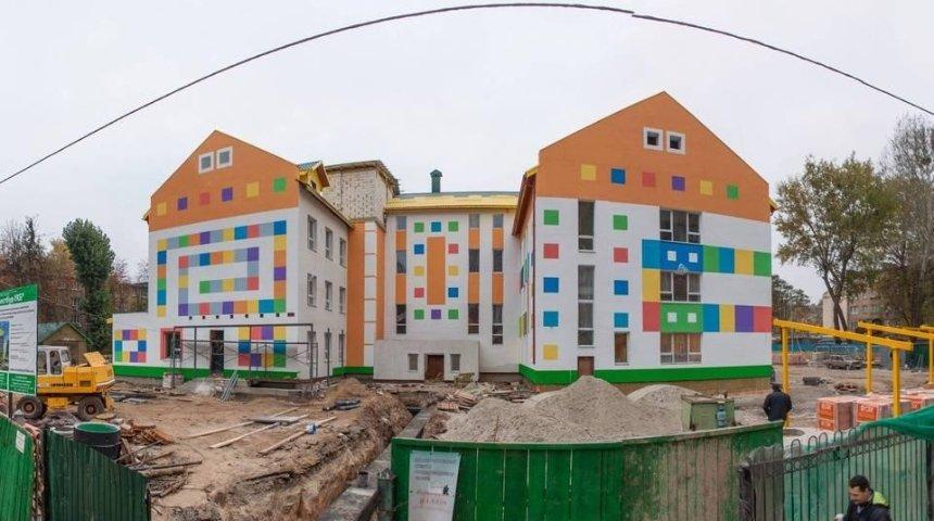 В Киеве строят необычный детский сад (фото)