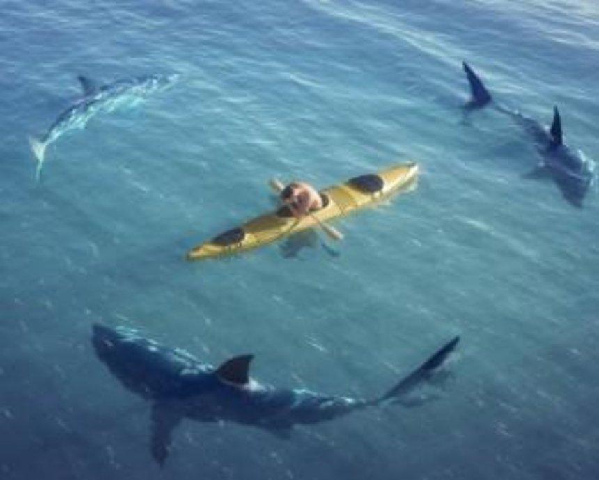 Втікти від акули: в Києві пройде незвичайна гонка на каяках