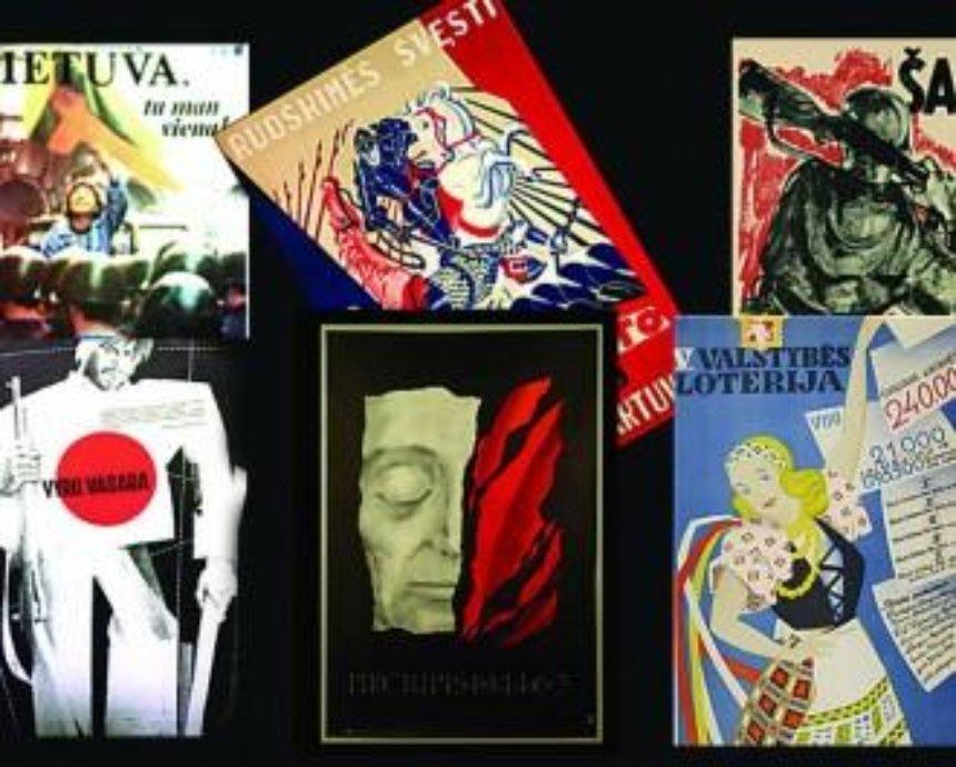 История, написанная графиками. В Киеве откроется выставка литовского плаката