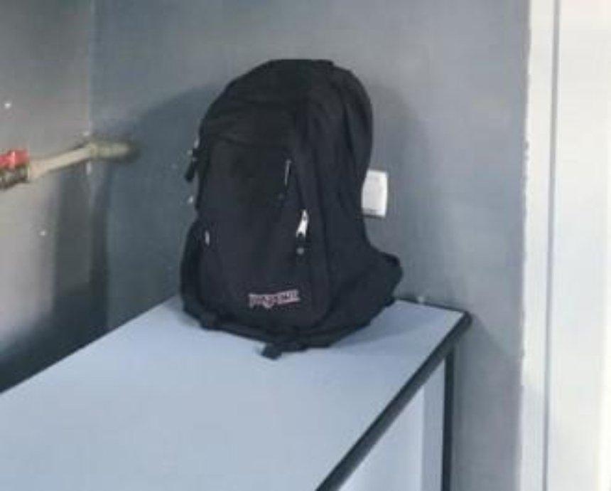 Полиция нашла и привезла киевлянину потерянный рюкзак