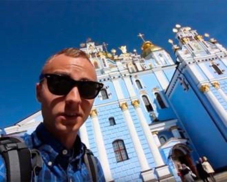 Житель США снял красивую видеоэкскурсию по Киеву