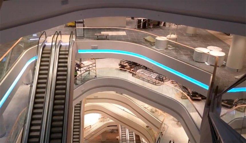 Как выглядит киевский ЦУМ изнутри (видео)