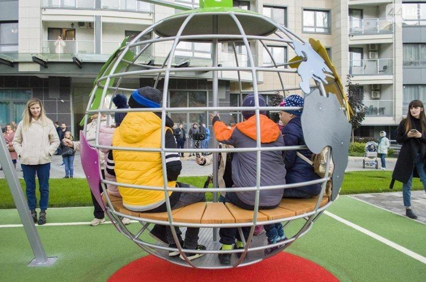 Игра в ученых: в столице появилась необычная детская площадка (фото)