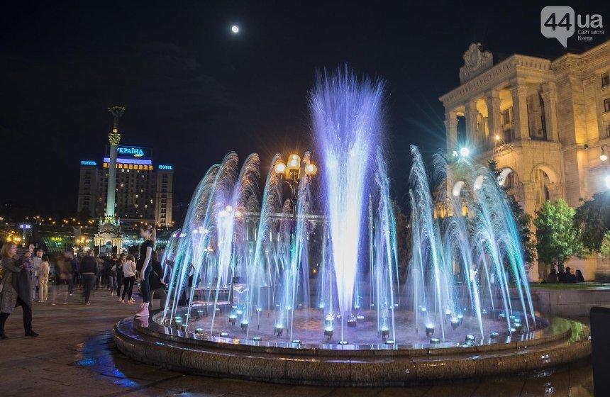 Киевские фонтаны выключают до следующего мая