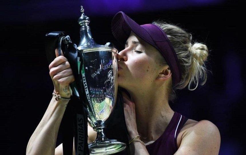Теннисистка Свитолина выиграла Итоговый турнир в Сингапуре