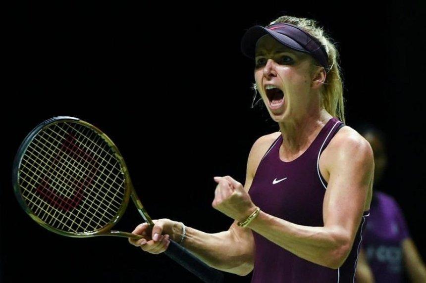 Свитолина впервые в карьере вышла в полуфинал итогового турнира WTA