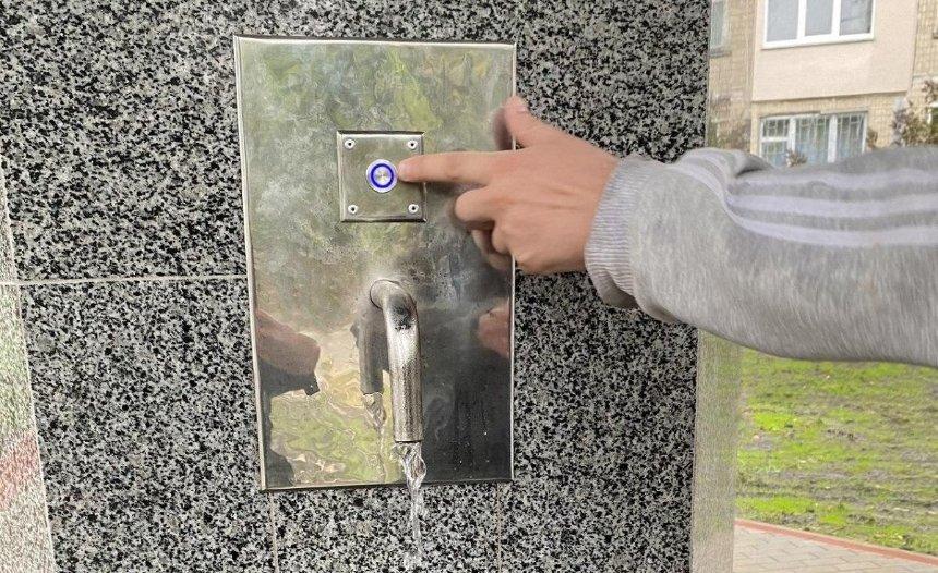 В Днепровском районе заработал новый модернизированный бювет
