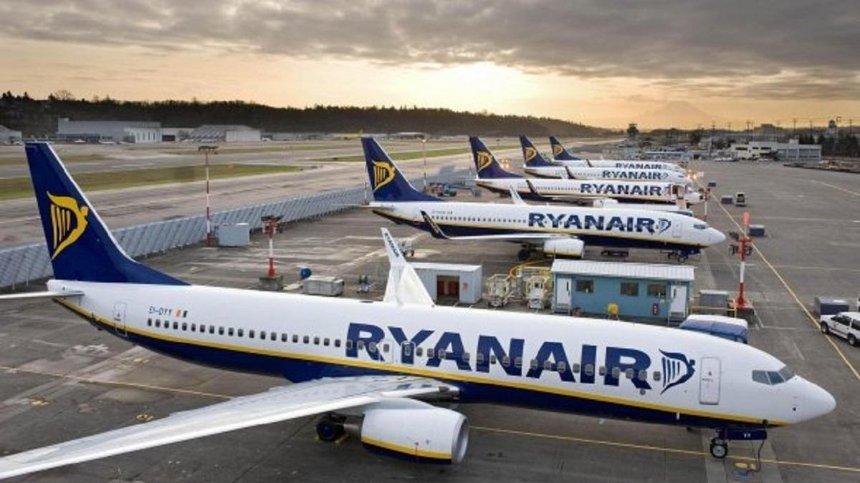Ryanair отменила восемь рейсов из Украины