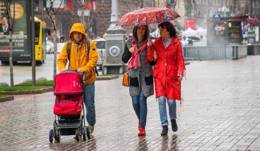 Штормовое предупреждение: наКиев надвигаются сильные дожди