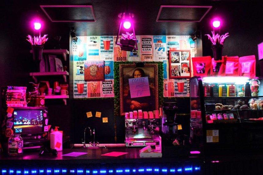 Новое место: кофейня Coffee and TV на Бессарабке