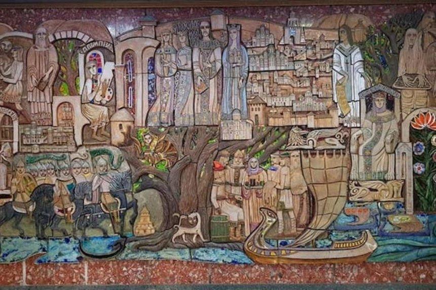 Уникальное панно изотеля «Турист» передадут вмузей натерритории Софии Киевской