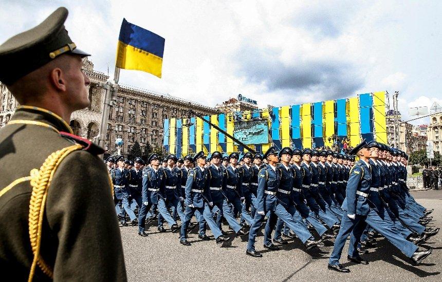 30-ю годовщину Независимости Украины отметят военным парадом в Киеве