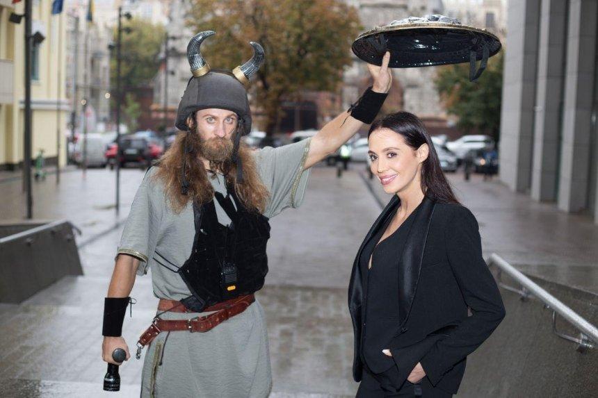 Охранная компания «Венбест» переместила воинов из прошлого на улицы Киева