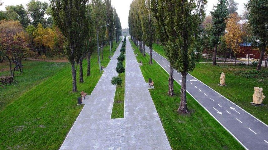 Впарке «Муромец» появилась дорожка для велосипедистов искейтеров