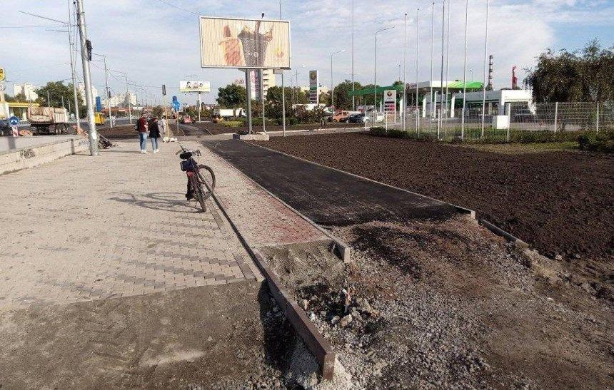 Коммунальщики уничтожают зоны для зеленых насаждений при обустройстве велодорожек, — активисты