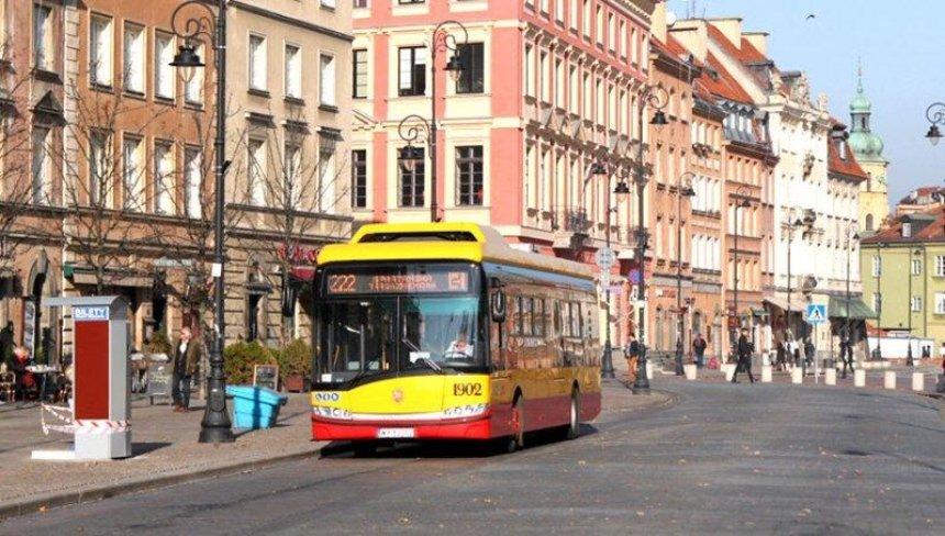 В варшавских автобусах покажут видеоролики об Украине