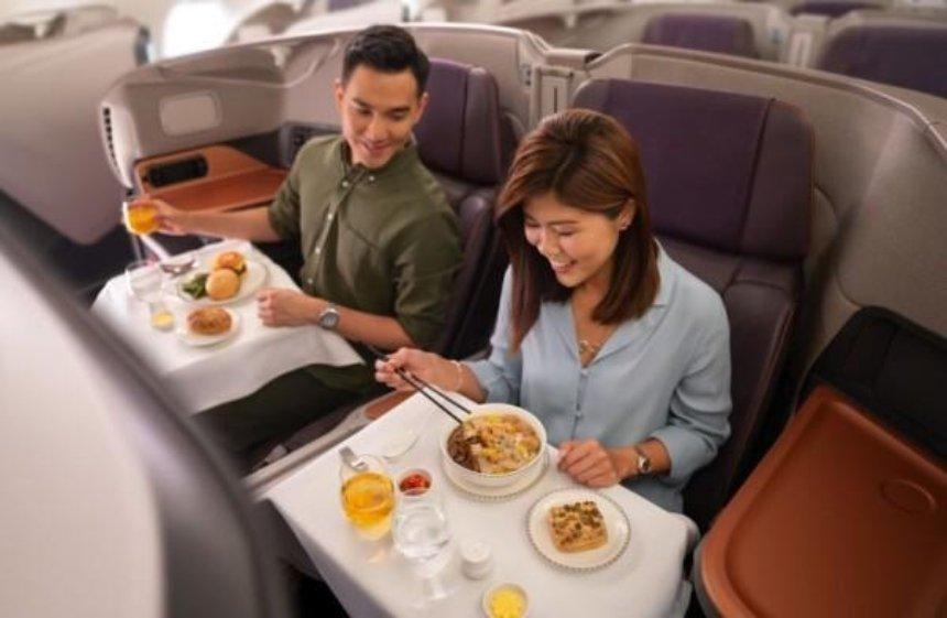 Сингапурская авиакомпания переоборудовала два самолета в рестораны из-за пандемии