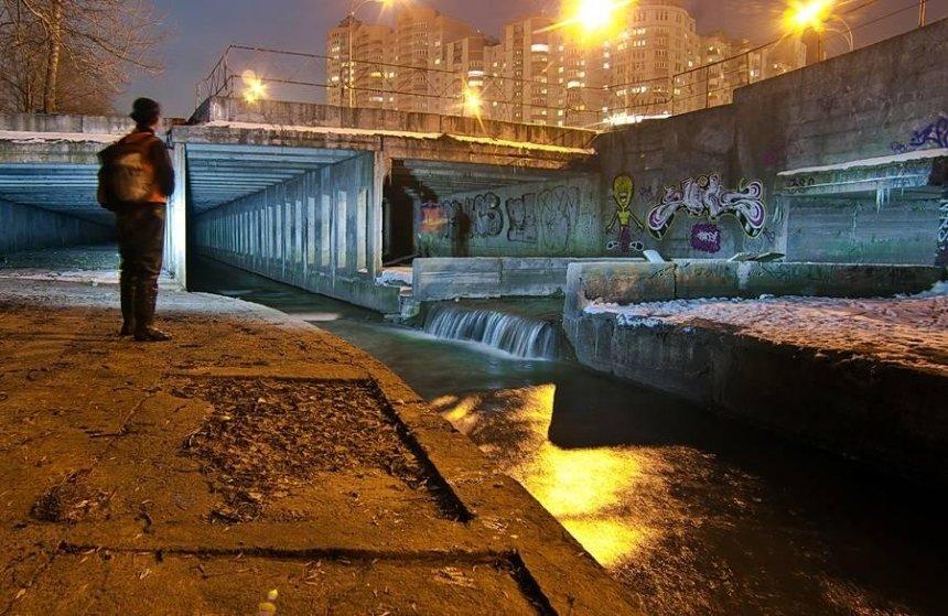 Уроки ответственности: киевские школьники пытаются спасти реку Лыбедь