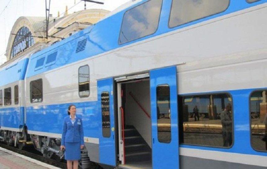 Между Киевом и Тернополем будет курсировать двухэтажный поезд