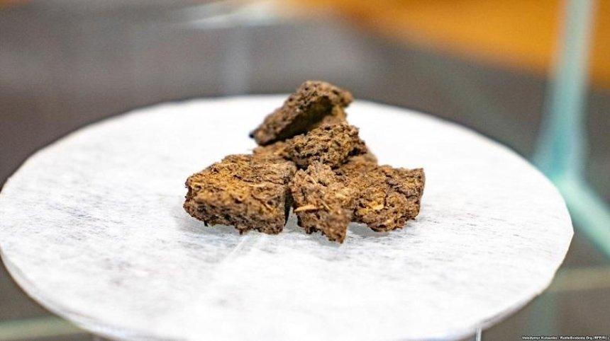 Украинские историки нашли в архиве хлеб времен Голодомора (фото)