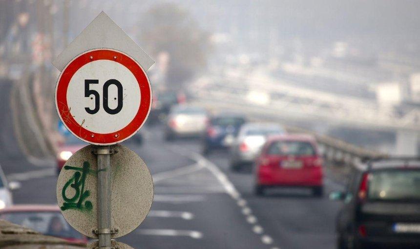 На всіх столичних дорогах швидкість обмежили до 50 км/год