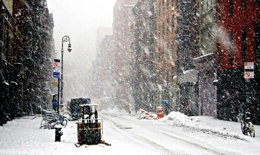 В столице обещают до 6 сантиметров снега