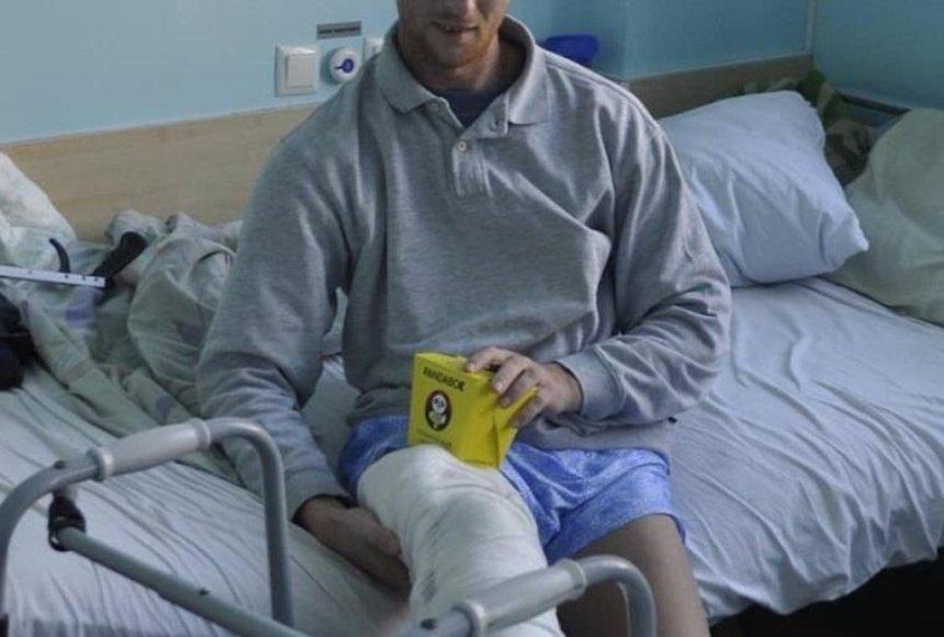 В столичном военном госпитале требуется помощь раненым бойцам ООС (фото)