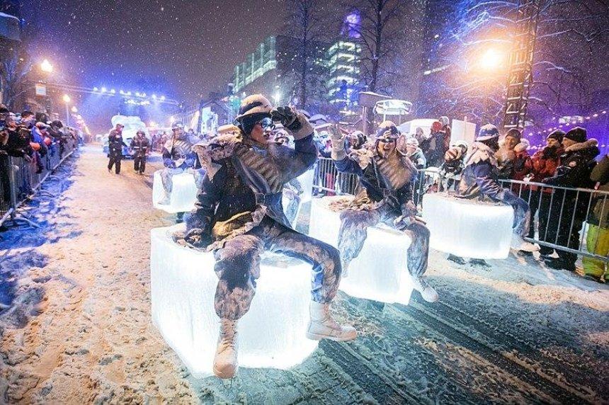 В Киеве отменили первый новогодний парад
