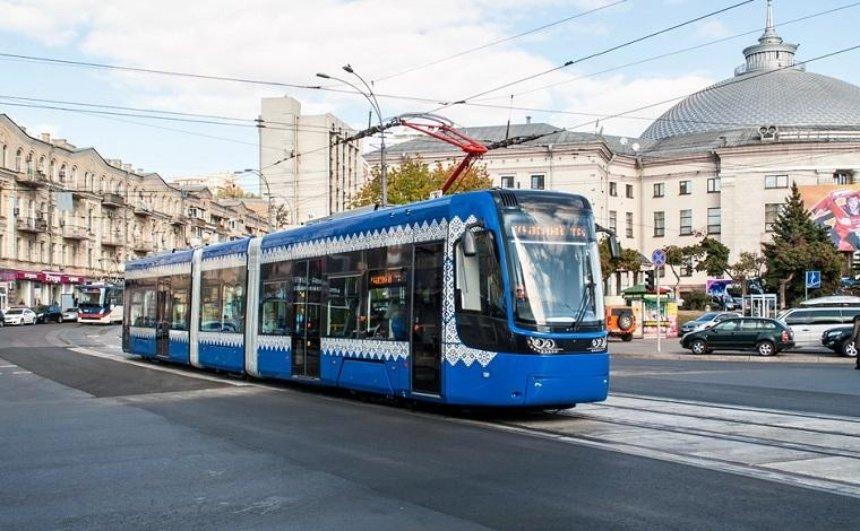 Для Киева купят новые трамваи более чем за 1 млрд  гривен