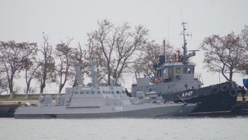 В Симферополе состоится суд над захваченными украинскими моряками