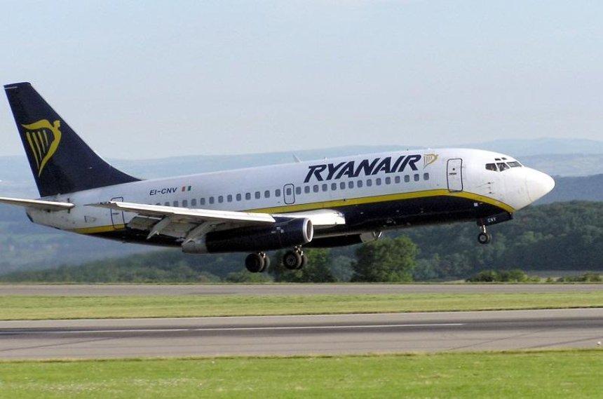 Ryanair откроет пять новых рейсов из Киева