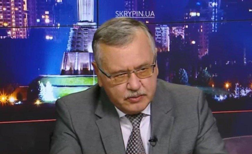 Гриценко неимеет полномочий вести мирные переговоры сРФ,— Кушнирук