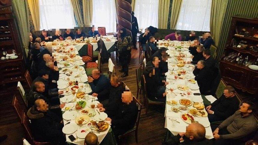 Столичная полиция помешала крупной «сходке» криминалитета (фото)